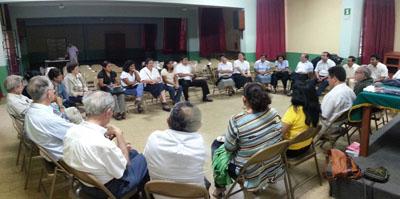 Piura: reunión del P. Provincial con la Plataforma Apostólica Regional