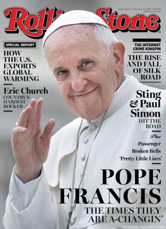 El papa Francisco en portada de revista 'Rolling Stone'