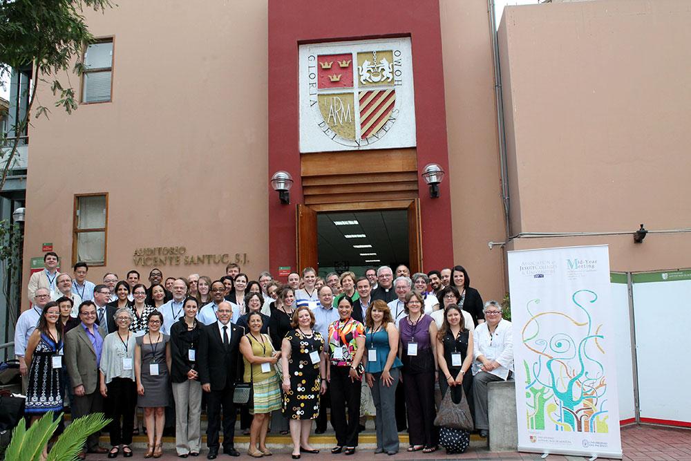 Reunión de Universidades Jesuitas en las Universidades del Pacífico y Ruiz de Montoya