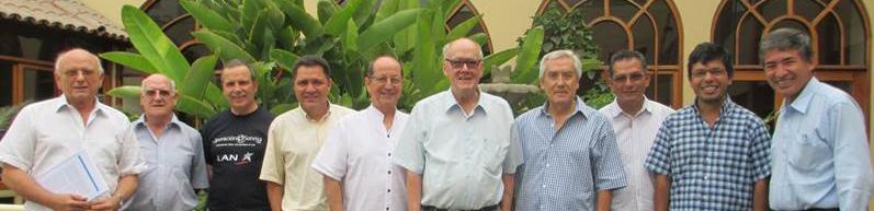 Reunión de párrocos jesuitas
