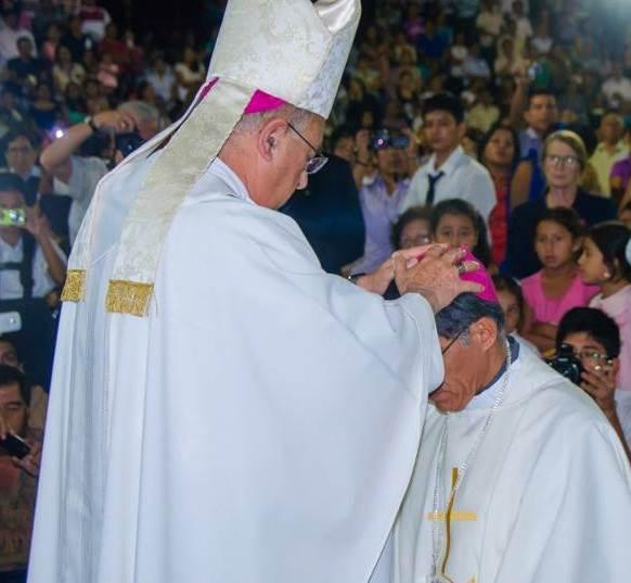 Ordenación Episcopal de Mons. Alfredo Vizcarra SJ
