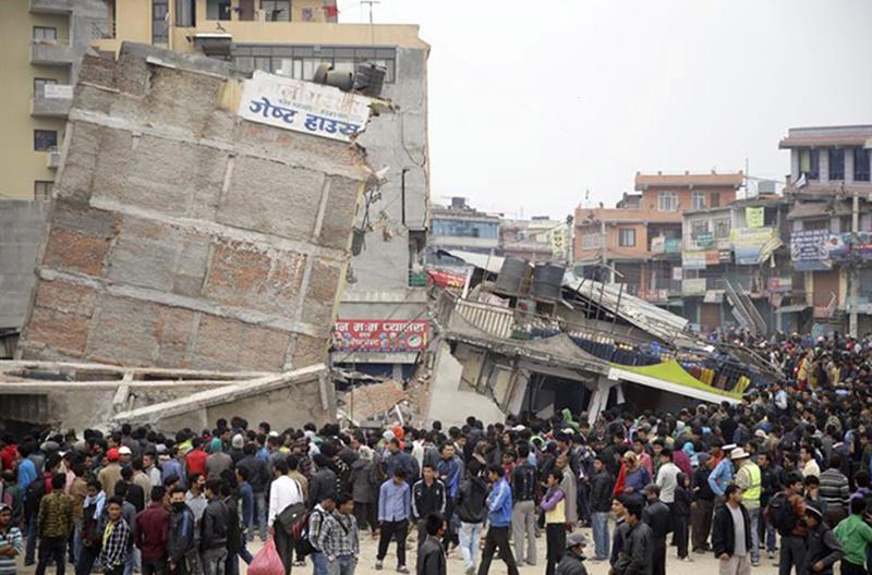 Apoyo a los damnificados del terremoto en Nepal
