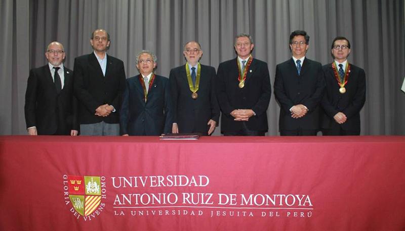 Carlos Gatti, Profesor Emérito de la UARM