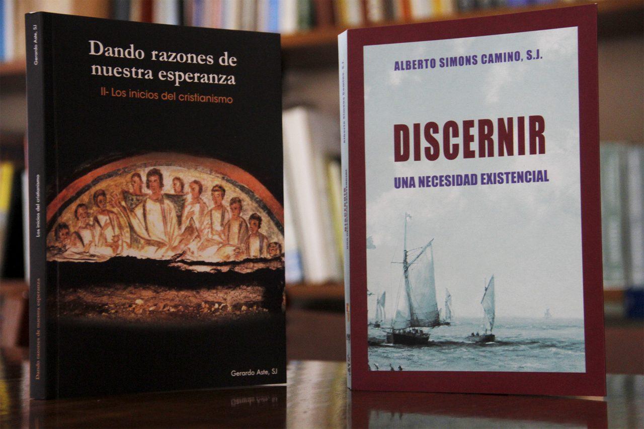 Sacerdotes Jesuitas Alberto Simons y Gerardo Aste publican libros