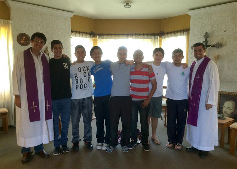 Ejercicios Espirituales colegios San José y Cristo Rey