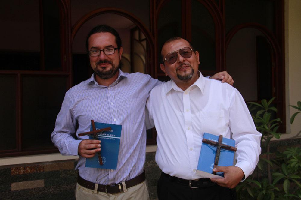 Nuevos estudiantes jesuitas
