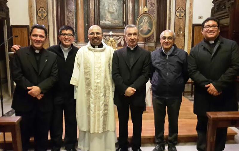 Ordenación Diaconal en Roma