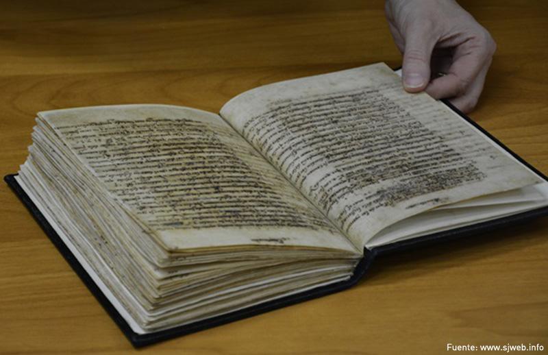 Restauran manuscritos de San Ignacio