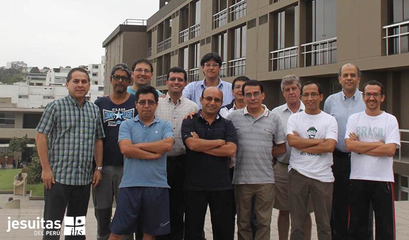 Reunión y taller de neo sacerdotes jesuitas en La Inmaculada