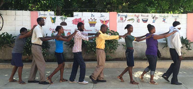 Escuela de formadores de profesores en Haití