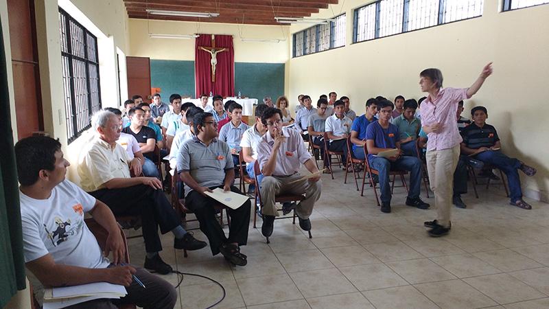 Jornadas teológicas en Seminario Mayor San Luis Gonzaga