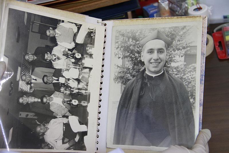 Traslado de archivo del P. Alfredo Castañeda, SJ