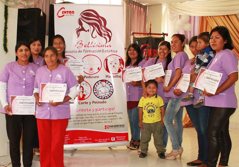 Certificaciones de taller Centro Cristo Rey