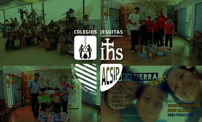 Compartir navideño de colegios ACSIP