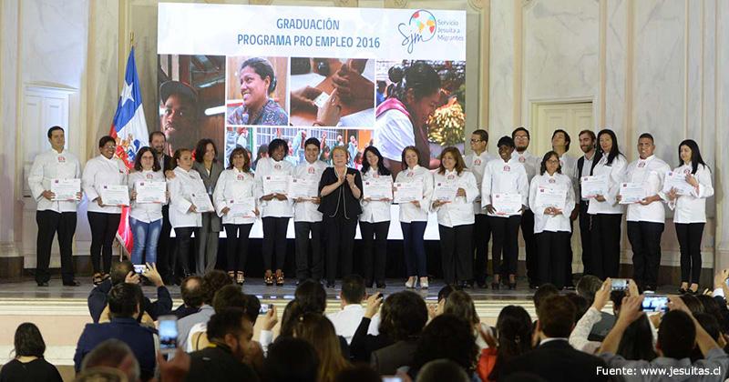 CHILE: Presidenta en el SJM