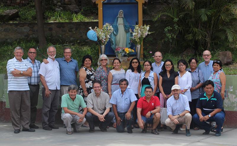 Reunión de Plataforma Lima en El Agustino