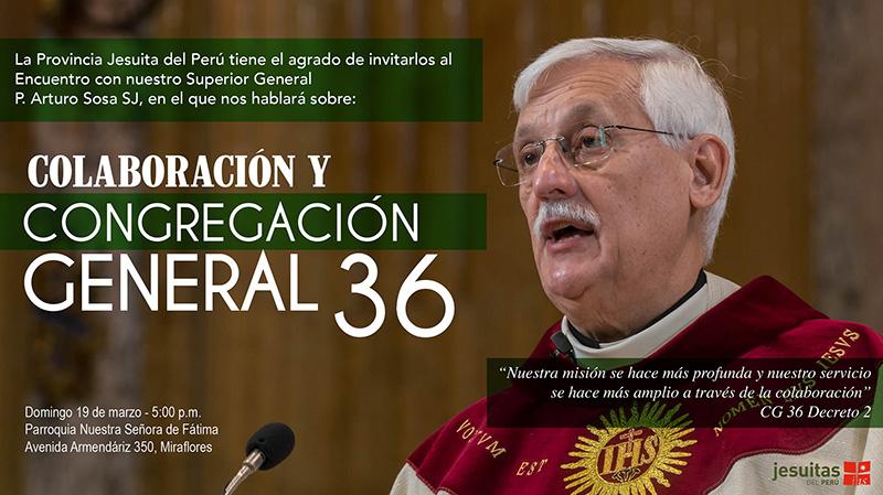 Superior General, P. Arturo Sosa SJ, en el Perú