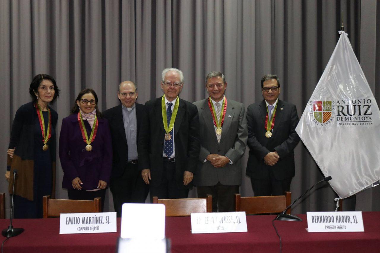P. Bernardo Haour SJ es nombrado Profesor Emérito de la UARM