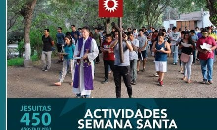 Actividades por Semana Santa en Parroquias y Templos de la Compañía