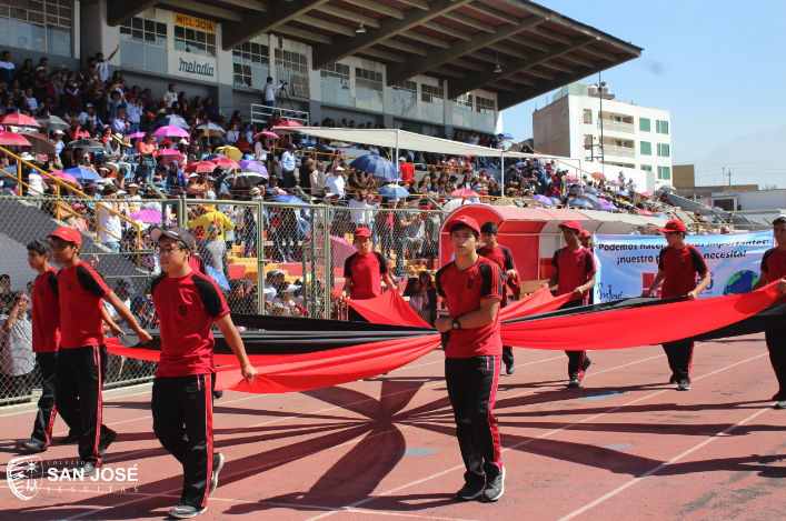 Colegio San José de Arequipa abrió Juegos Deportivos CODECOA 2018