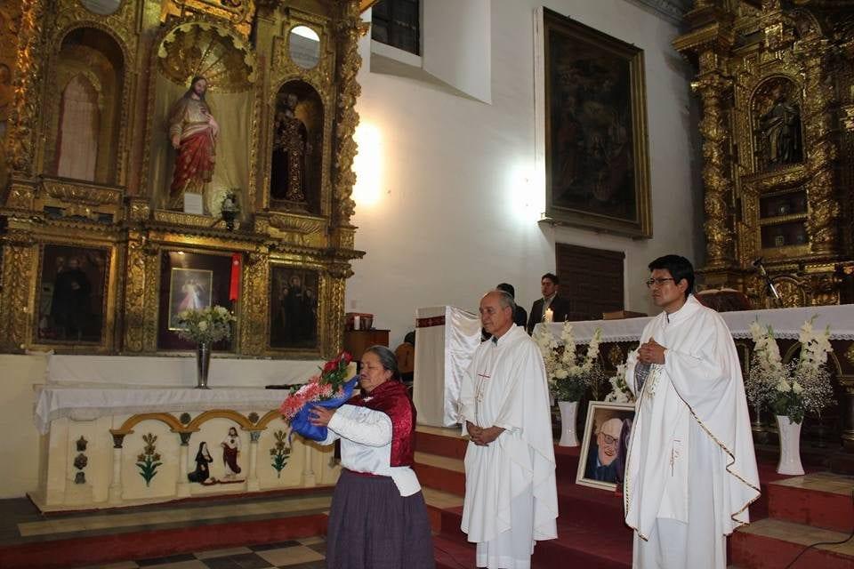 Ayacucho: Misa de Acción de Gracias por la vida del P. Francisco Chamberlain SJ