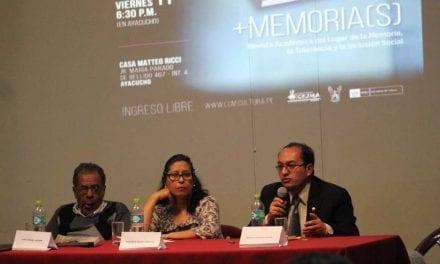 Ayacucho: LUM realizó actividades en la Casa Matteo Ricci