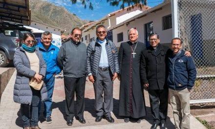 Señor Nuncio y Arzobispo del Cusco visitaron Andahuaylillas