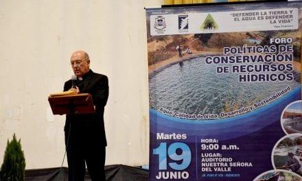 Monseñor Pedro Barreto SJ en foro sobre recursos hídricos