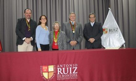 Delfina Paredes es nombrada Profesora Honoraria de la UARM
