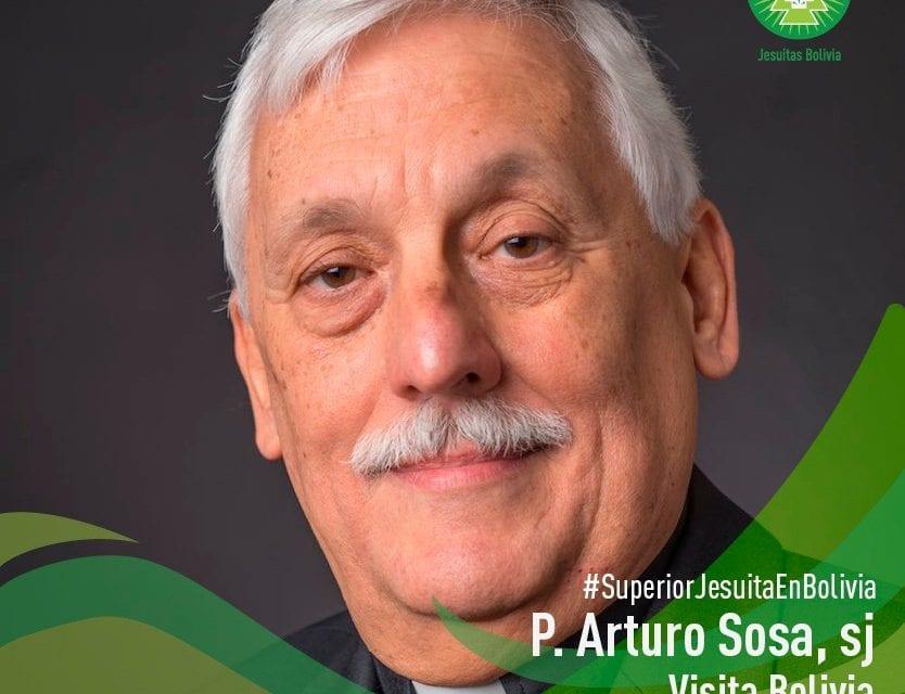 P. General Arturo Sosa SJ visitará la Provincia de Bolivia