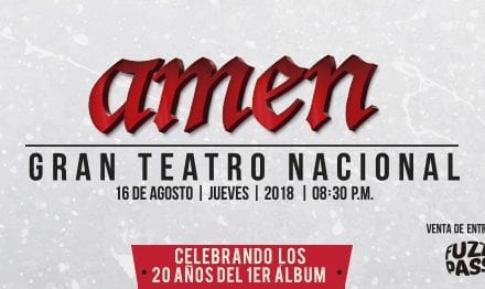 AMEN en concierto a beneficio
