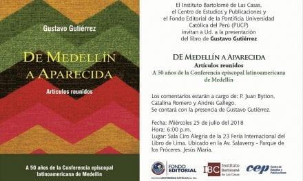 "Presentación de libro: ""De Medellín a Aparecida"""