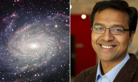 Jesuita indio lidera estudio sobre la galaxia «hermana» de la Vía Láctea
