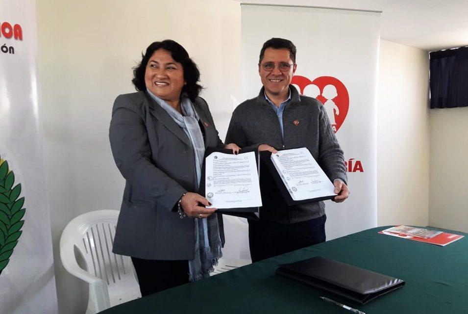 DREICA y Fe y Alegría cooperan por la educación de Ica