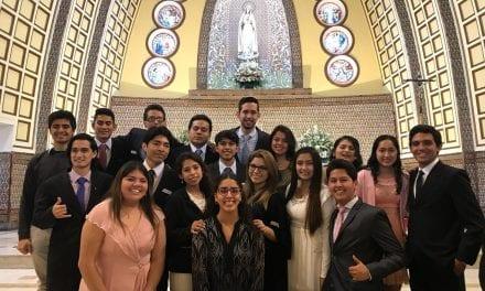 Jóvenes de la Parroquia de Fátima y La Ruiz recibieron el sacramento de la Confirmación