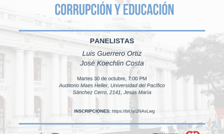 """Conversatorio """"Corrupción y Educación"""""""