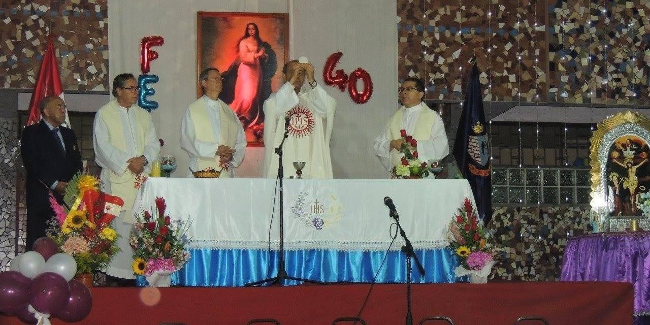 40 años de PEBAL La Inmaculada