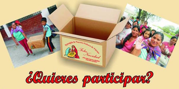 """Parroquia Nuestra Señora de Fátima: Campaña """"Cajas de Amor"""""""