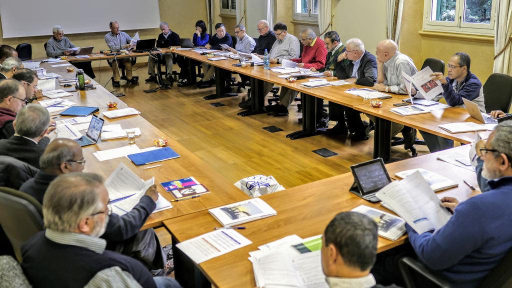 Consejo Ampliado en la Curia General