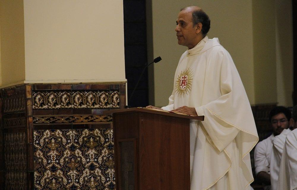 Homilía del Padre Provincial – Eucaristía del 1° de enero