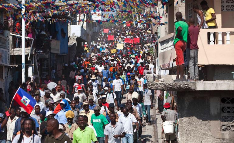 Haití en llamas, requiere nuestra solidaridad
