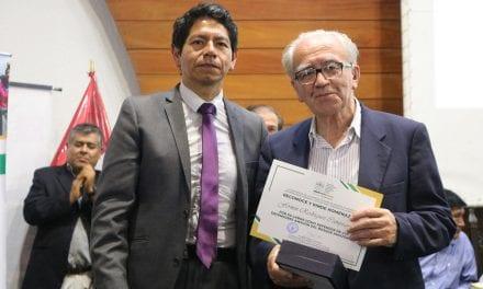 P. Fermin Rodríguez Campoamor, SJ: Reconocimiento en el Congreso