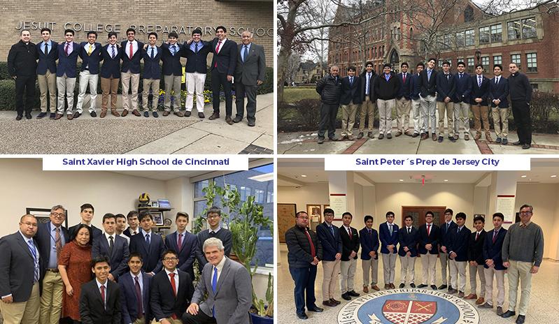 Colegio de la Inmaculada: Intercambio estudiantil con colegios jesuitas de EE. UU