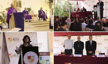 Universidad Ruiz de Montoya: Inauguración del año académico