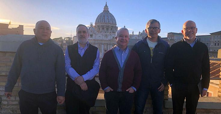 Roma: Concluyó la reunión de representantes de archivos jesuitas