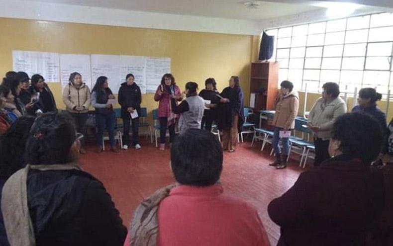 Wayra capacita directores de colegios contra la trata de personas