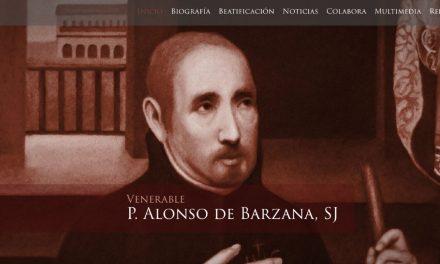 Nueva página web sobre el P. Alonso Barzana SJ – Causa de Beatificación