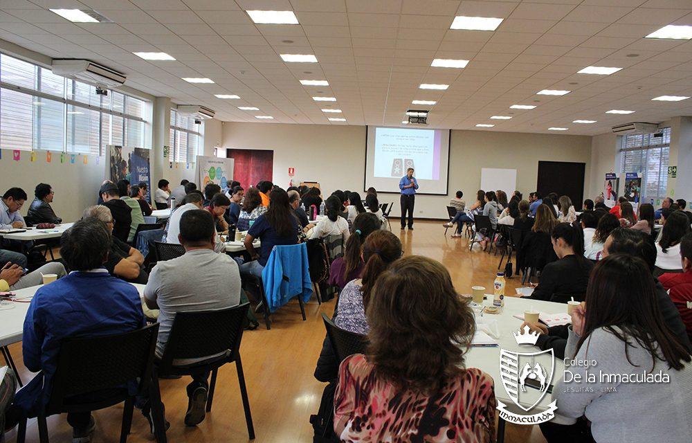 """Colegios De la Inmaculada y San José recibieron taller """"Educando con respeto y cuidado"""""""