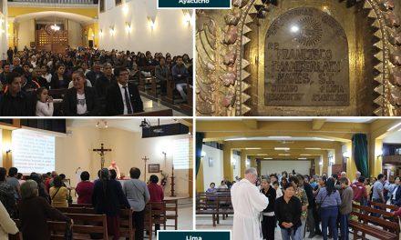 Eucaristías por el primer año de fallecimiento del P. Francisco Chamberlain SJ