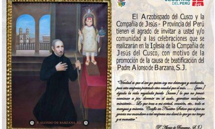 Cusco: Inicia la promoción de la Causa de Beatificación del P. Alonso Barzana SJ
